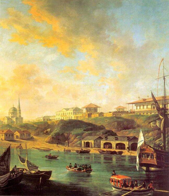 Городской пейзаж Алексеева 6