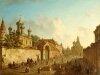 Городской пейзаж Алексеева 1