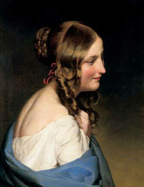 Портретная живопись Amerling11