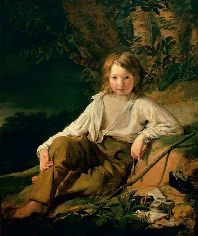Портретная живопись Amerling19