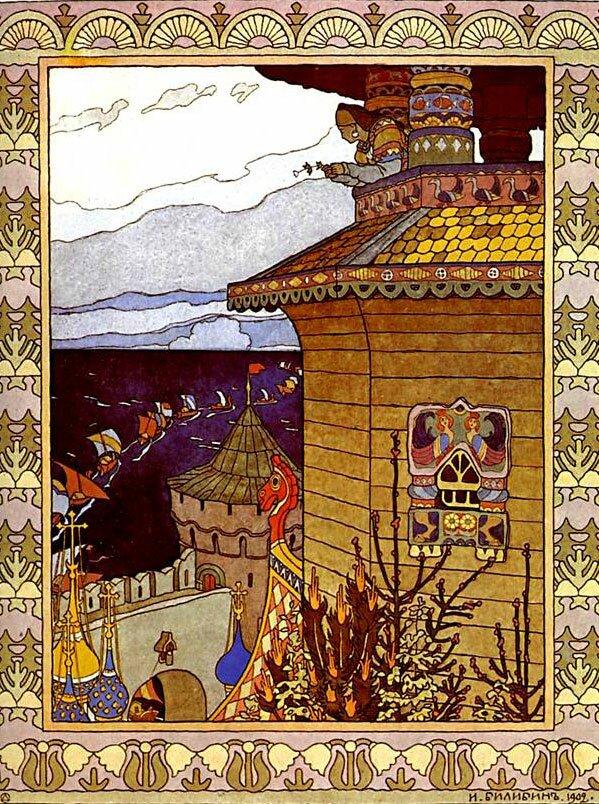 Иллюстрации Билибина Bilibin 2