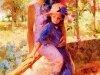 Цветы и девушки Daeni Pino 24
