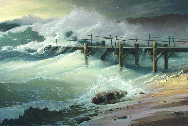 Морской пейзаж 10