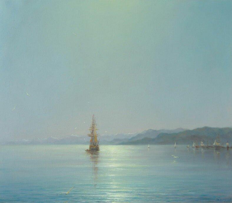 Морской пейзаж 13