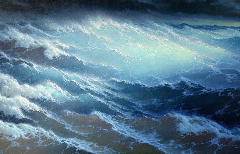 Морской пейзаж 16