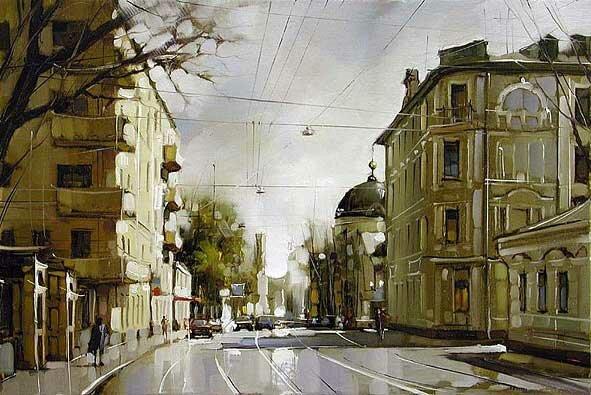 Городской пейзаж Гапасов 4