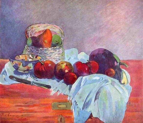 Импрессионист ПОЛЬ Гоген Paul Gauguin 1