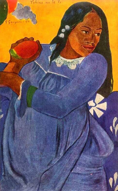 Импрессионист ПОЛЬ Гоген Paul Gauguin 12