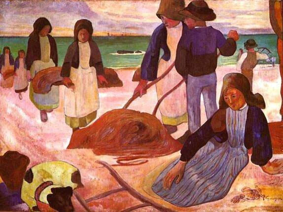 Импрессионист ПОЛЬ Гоген Paul Gauguin 13