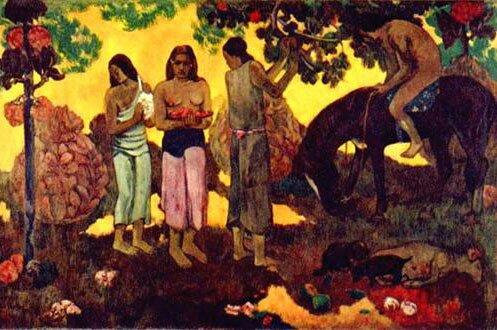 Импрессионист ПОЛЬ Гоген Paul Gauguin 14