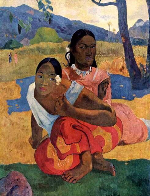Импрессионист ПОЛЬ Гоген Paul Gauguin 18