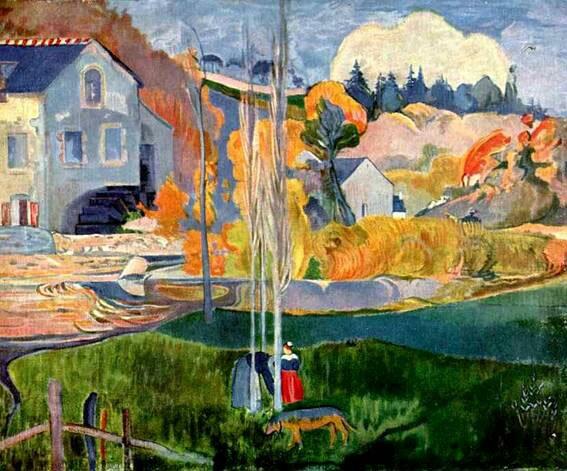 Импрессионист ПОЛЬ Гоген Paul Gauguin 5