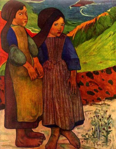 Импрессионист ПОЛЬ Гоген Paul Gauguin 7