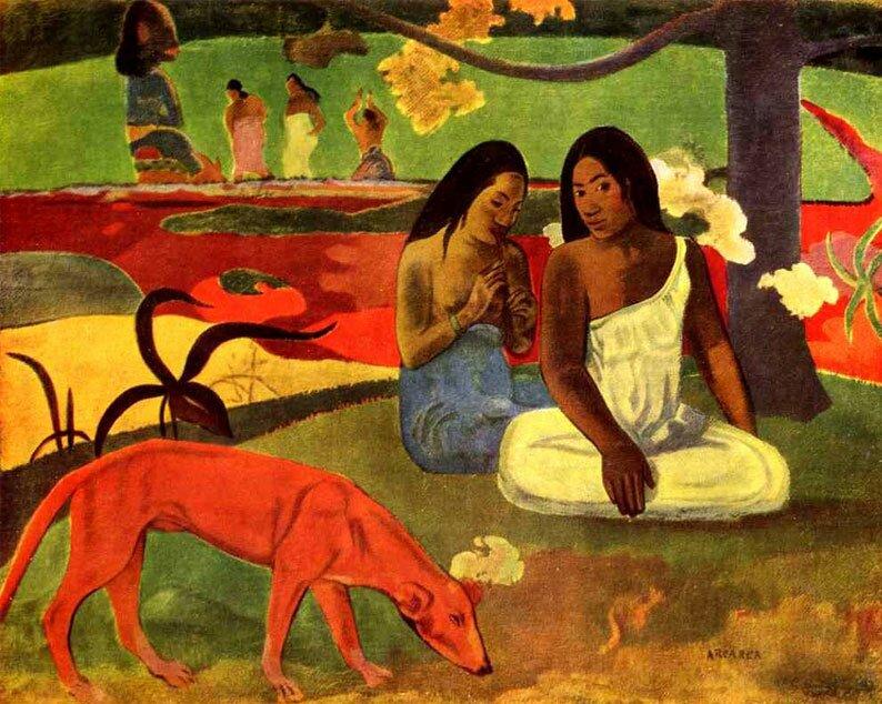 Импрессионист ПОЛЬ Гоген Paul Gauguin 9