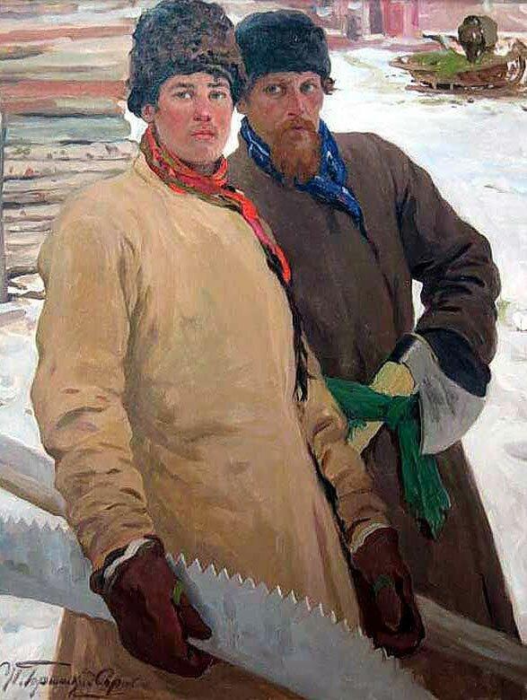 Произведения живописи Горюшкин-Сорокопудов 16