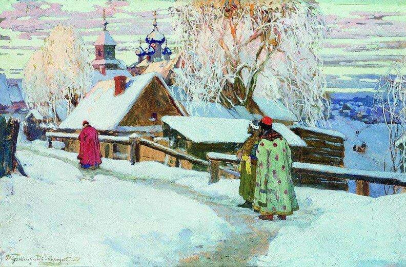 Произведения живописи Горюшкин-Сорокопудов 18