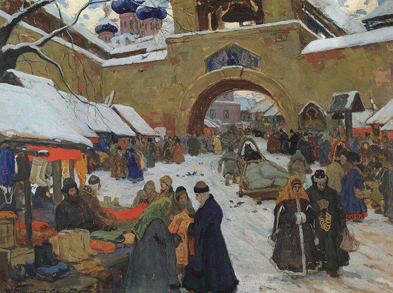 Произведения живописи Горюшкин-Сорокопудов 21
