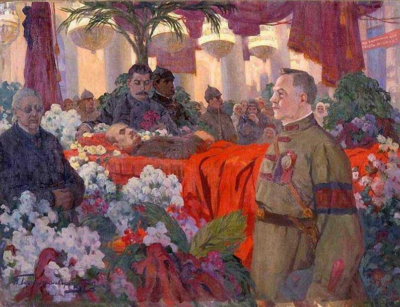 Произведения живописи Горюшкин-Сорокопудов 3