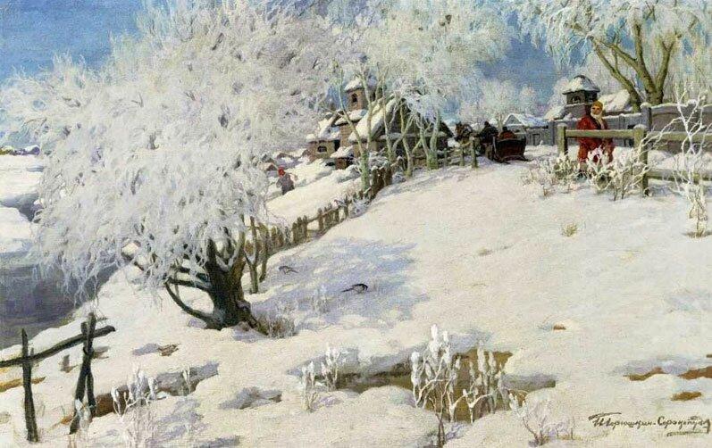 Произведения живописи Горюшкин-Сорокопудов 4