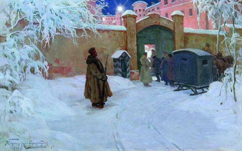 Произведения живописи Горюшкин-Сорокопудов 7