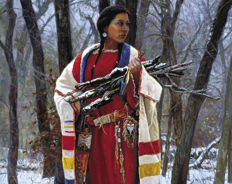 Индейцы в рисунках Мартина Греля 8