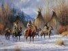 Индейцы в рисунках Мартина Греля 5