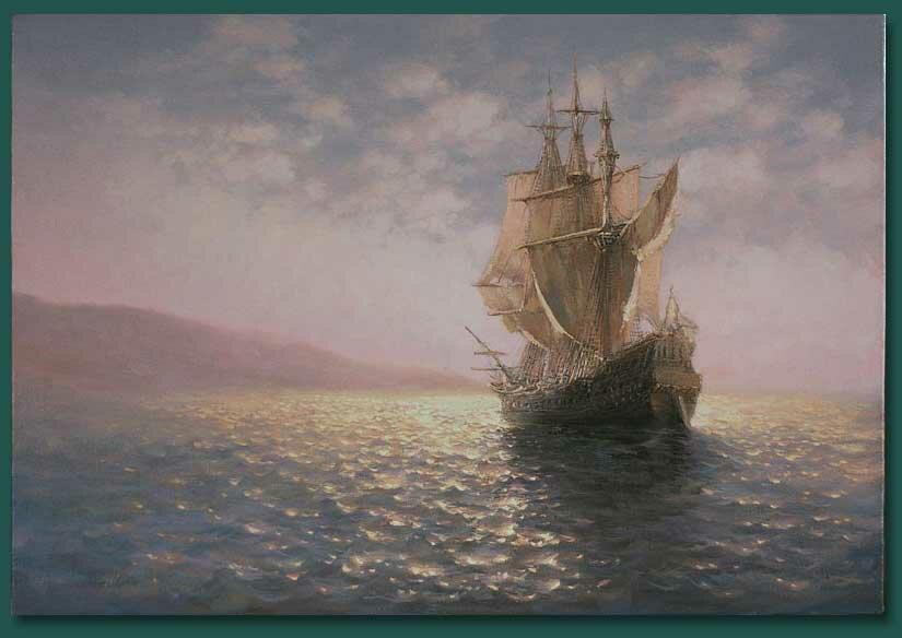 10 Картины морских пейзажей