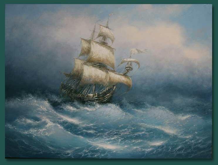 13 Картины морских пейзажей