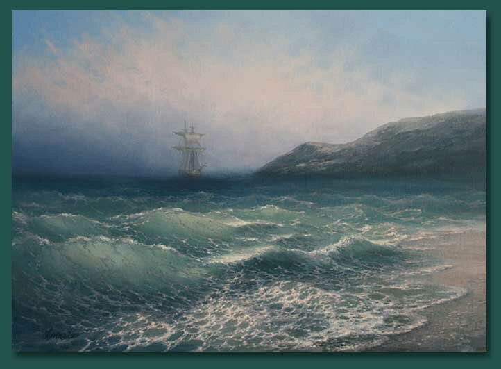 15 Картины морских пейзажей