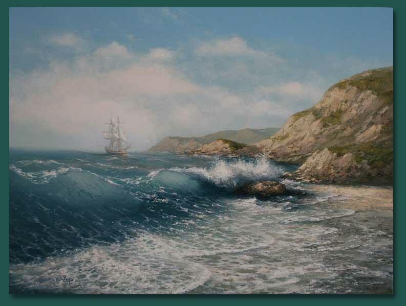 16 Картины морских пейзажей