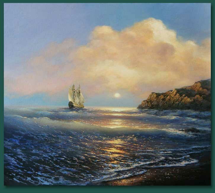 17 Картины морских пейзажей