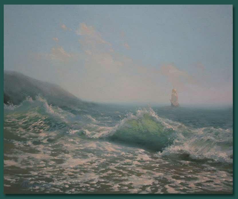 4 Картины морских пейзажей
