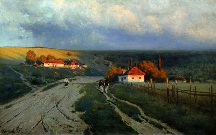 Пейзажи Крыжицкого 12