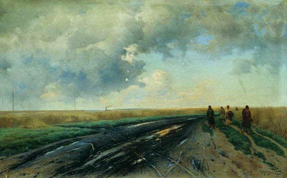 Пейзажи Крыжицкого 18