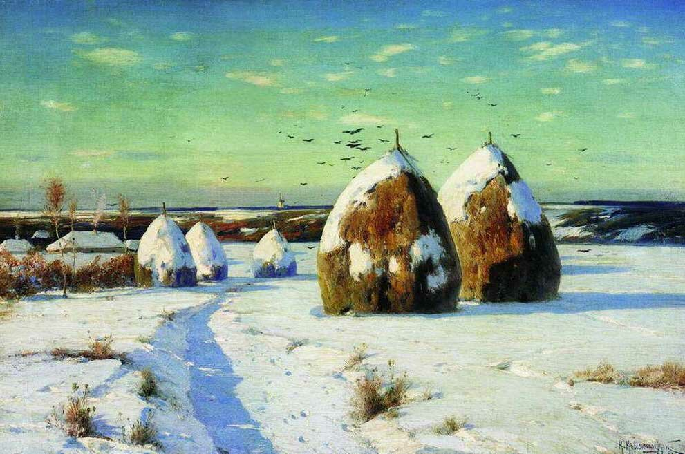 Пейзажи Крыжицкого 2