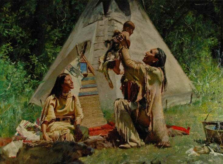 Индейцы Кучеры 17
