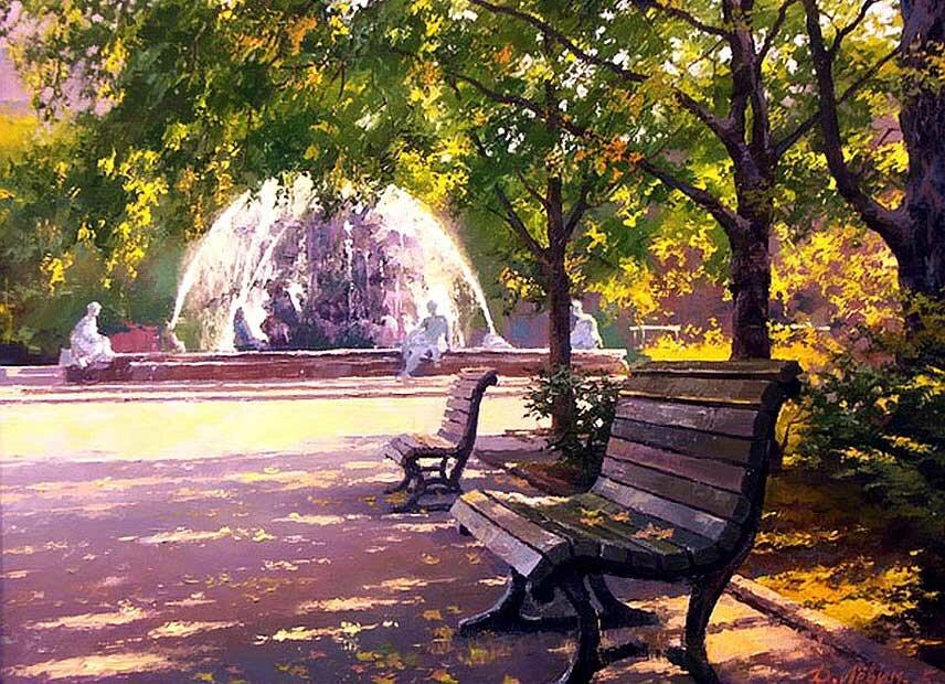 Пейзаж Дмитрия Левина 13