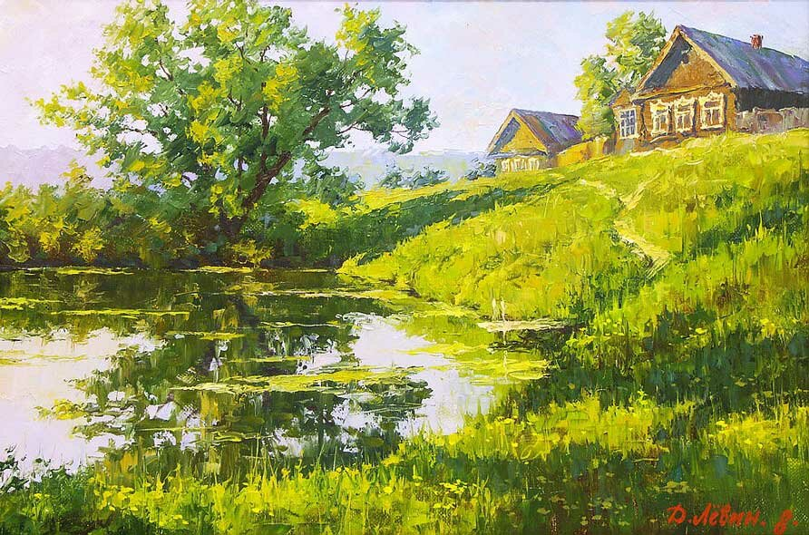 Пейзаж Дмитрия Левина 18