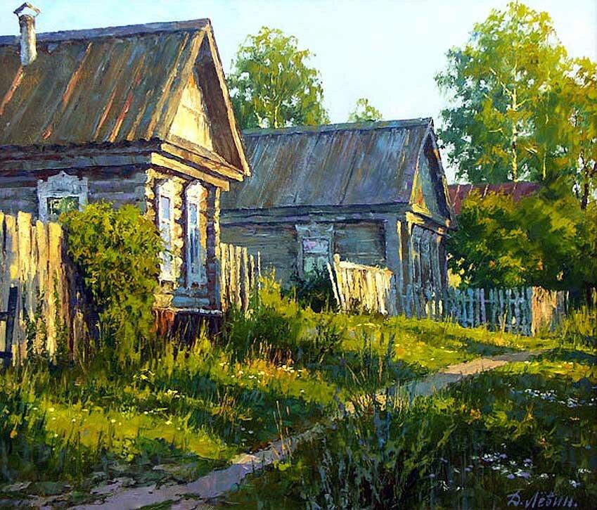 Пейзаж Дмитрия Левина 2