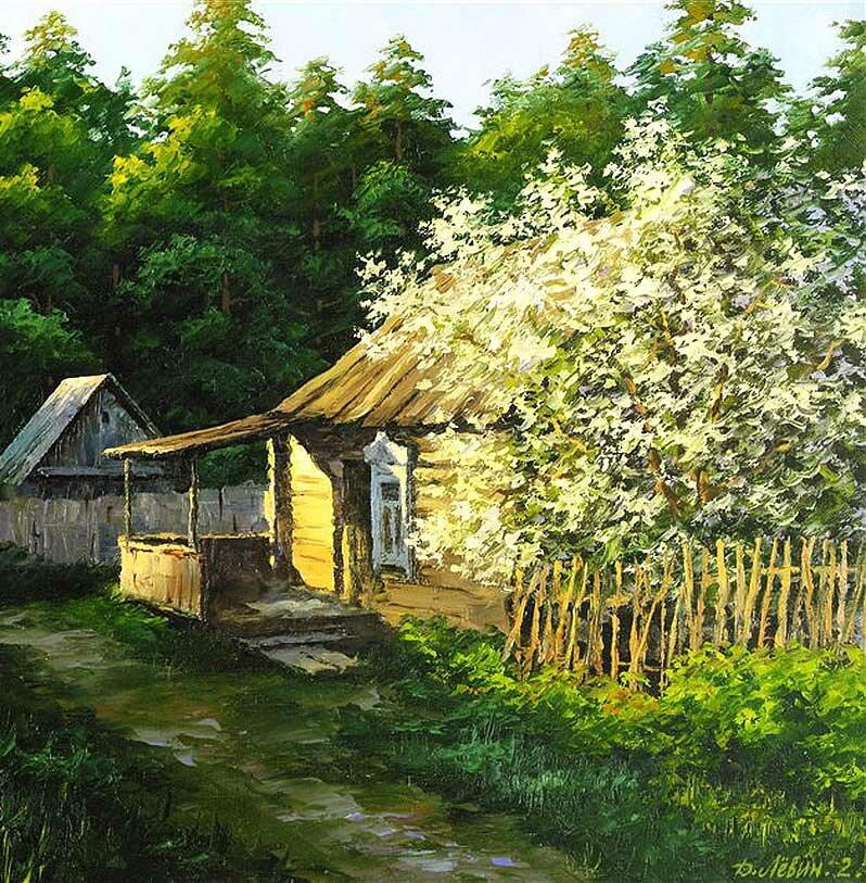 Пейзаж Дмитрия Левина 5