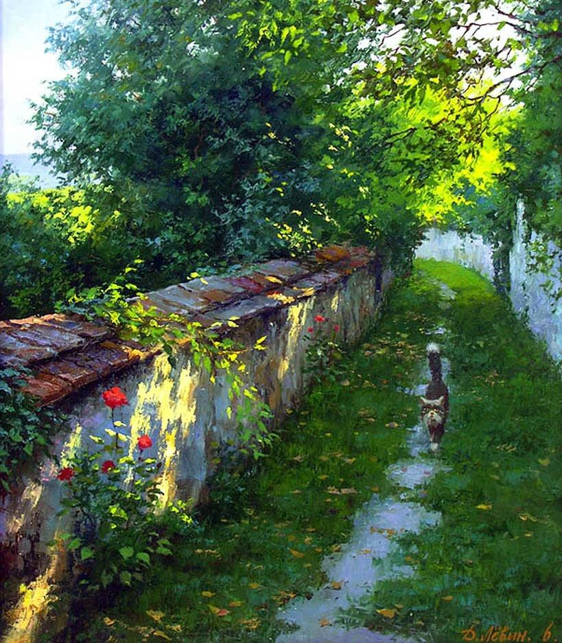 Пейзаж Дмитрия Левина 7