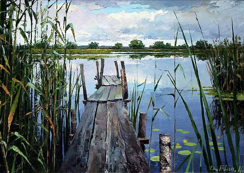 Пейзаж Дмитрия Левина 9