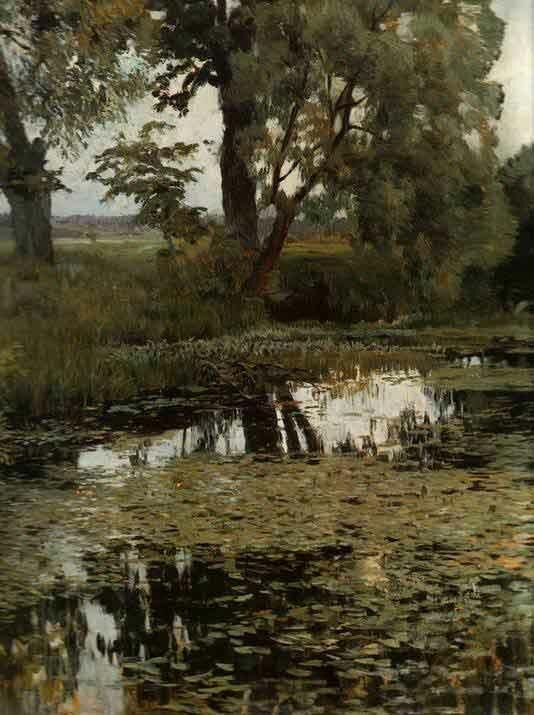 Пейзаж Левитана Levitan 13