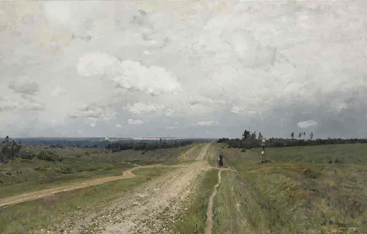 Пейзаж Левитана Levitan 18