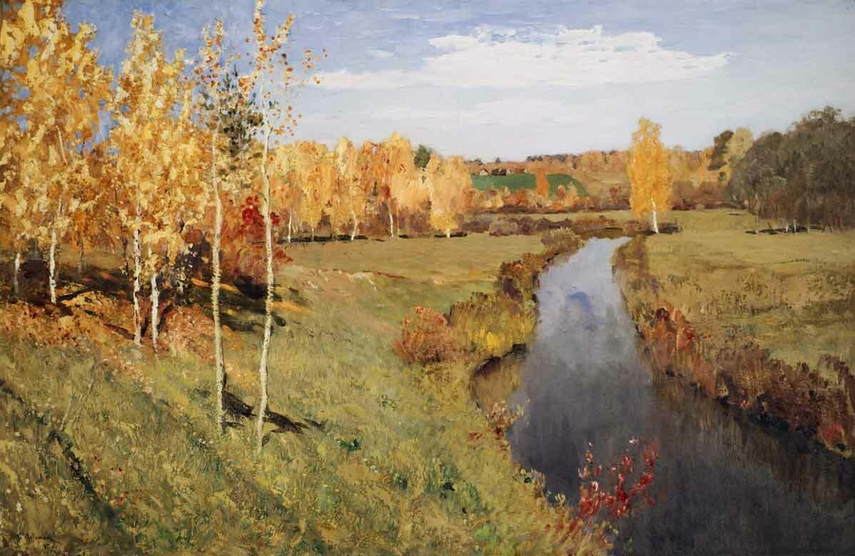 Пейзаж Левитана Levitan 2