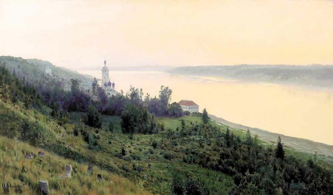 Пейзаж Левитана Levitan 7