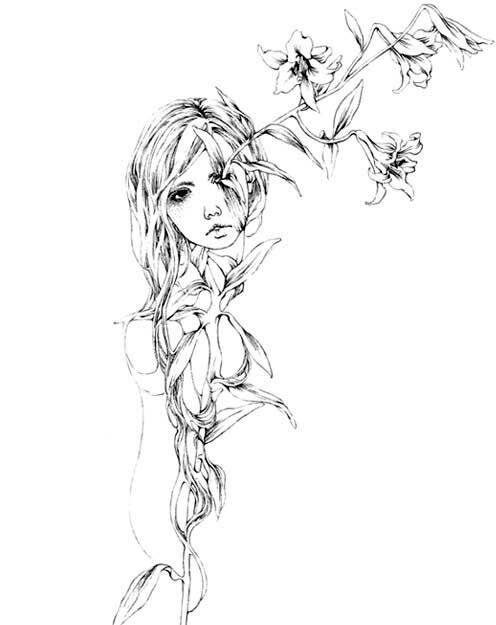 Рисуноки Мако Катсута 11