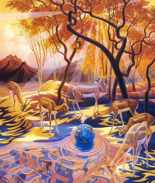 Рисунки фэнтези Мейер 1
