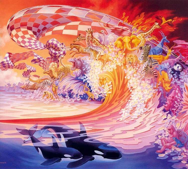 Рисунки фэнтези Мейер 14