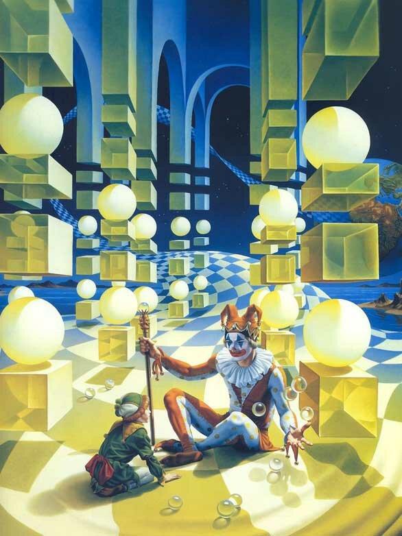 Рисунки фэнтези Мейер 6